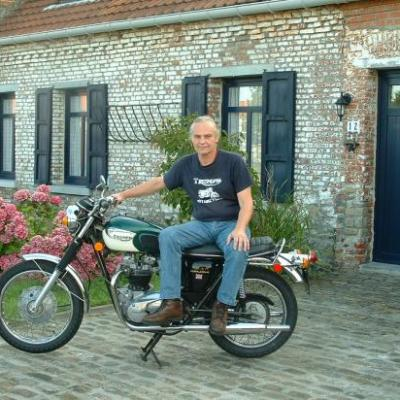 My and Bonnie T120 R 1971